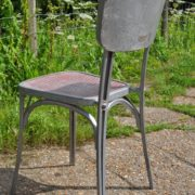 Aluminium cafe chairs