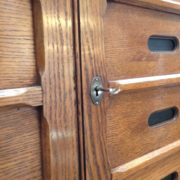 French oak Notaire's cabinet
