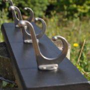Nickel-plated hooks