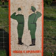 Military sign