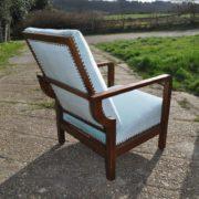 oak recliner