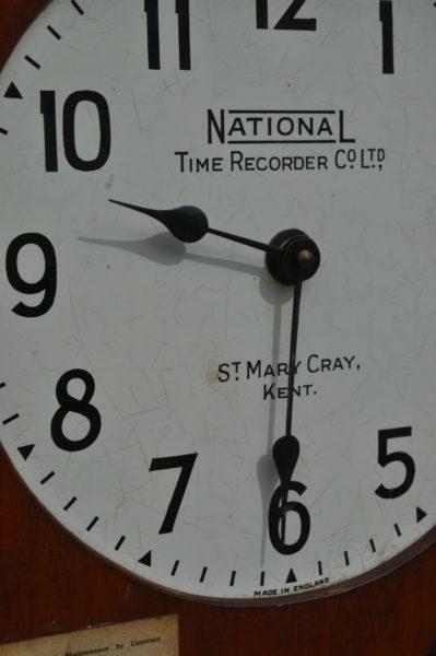 Employer's clock