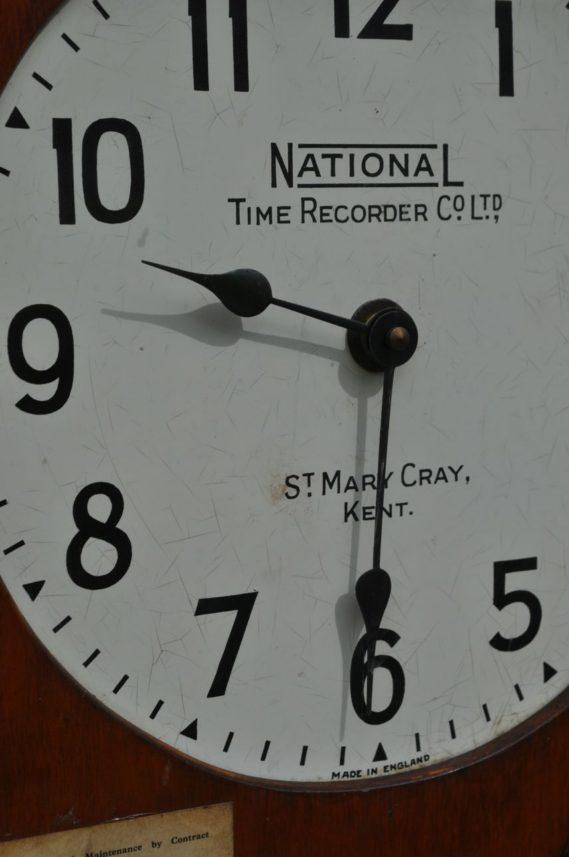 Employer's clock