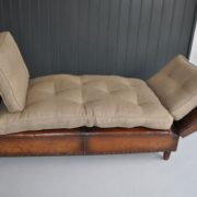 leather daybed