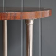 walnut & chrome table