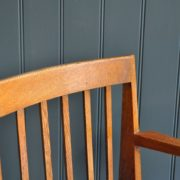 English oak chair
