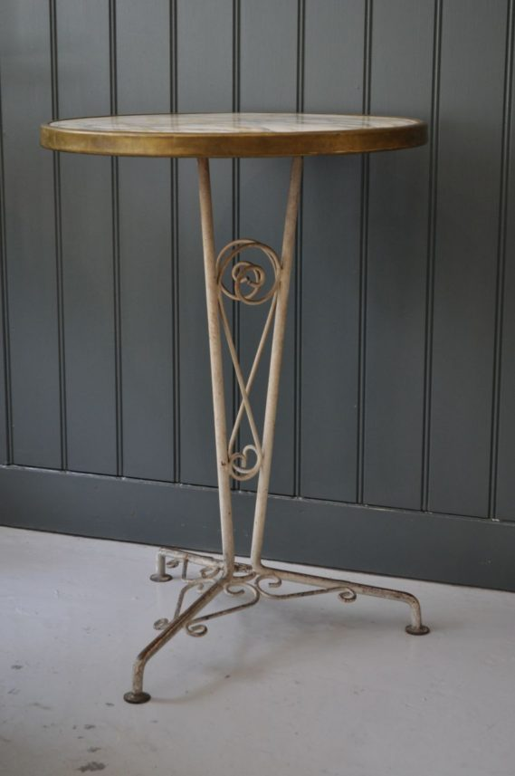 French Terrace Table