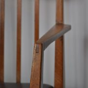 English oak chair