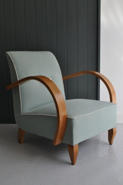 French 1950s armchairs