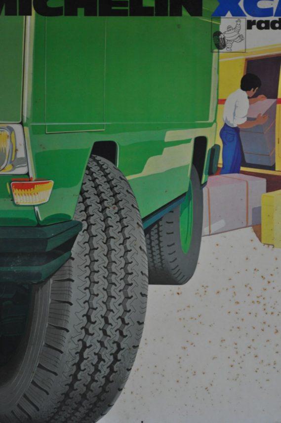 Michelin tyre 4