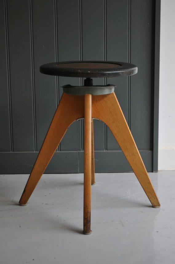 Mid-century stool