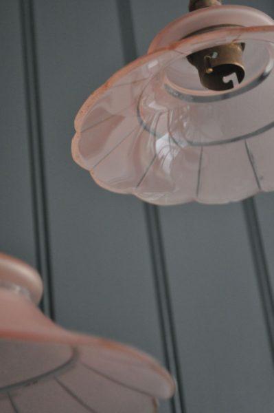 Pretty pink pendants
