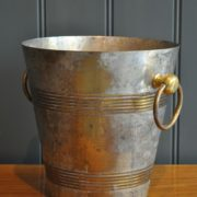 patinated ice bucket
