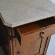 Oak bedside cabinet