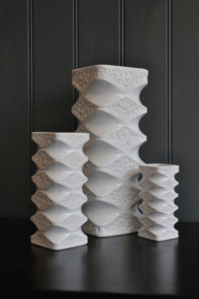 3 German Vases