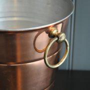 Copper ice bucket