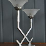 Pair deco lamps