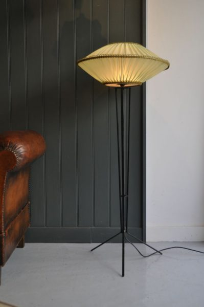 Continental floor lamp