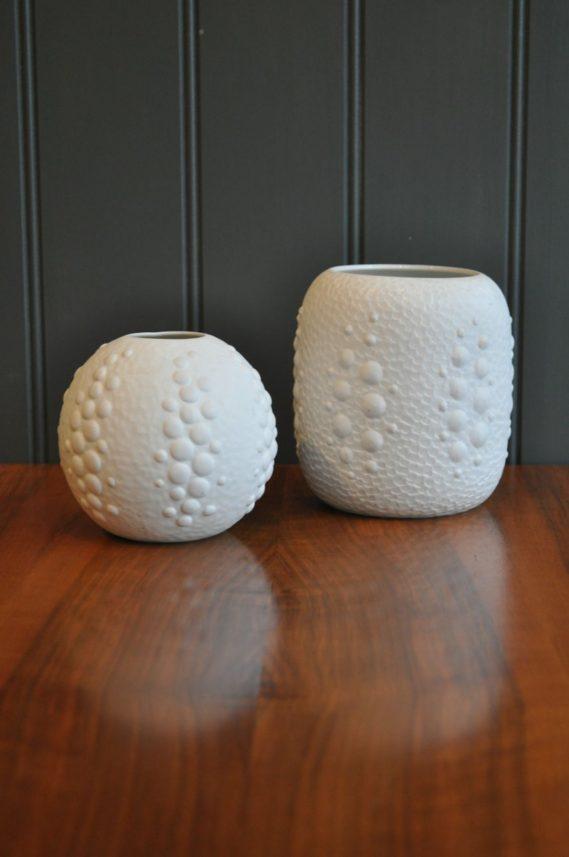 Pair German vases