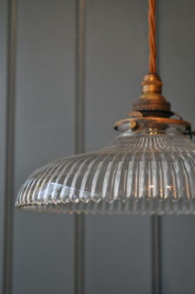 French ridged pendant
