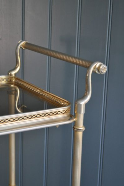 Brass drinks trolley