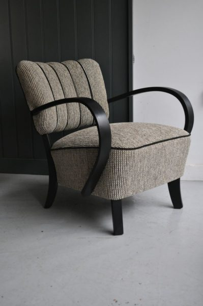 Pair of open armchairs
