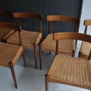 6 Danish chairs