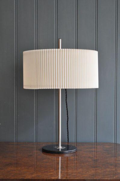 Italian opaline lamp