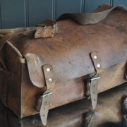Belgian leather bag