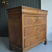 French oak chest