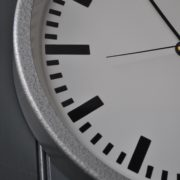 German metal clock