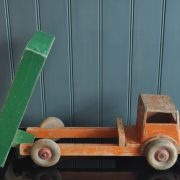 Large wooden truck
