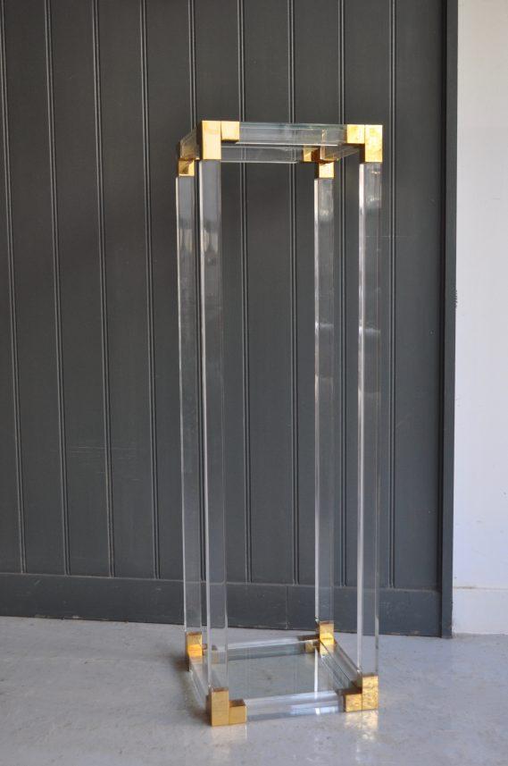 Tall Italian acrylic stand