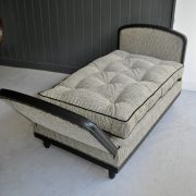 Ebonised daybed