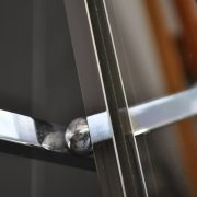 French chrome coat rack
