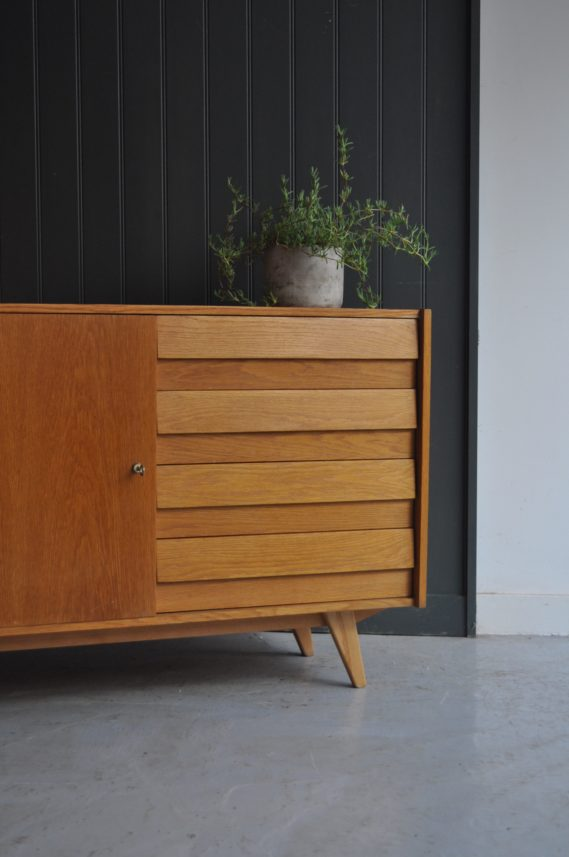 Czech oak sideboard