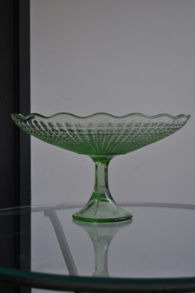 Glass Dessert Stand