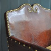 Petite leather chair