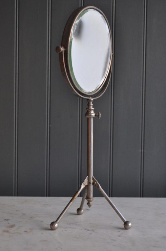 nickel shaving mirror