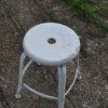 French metal stool