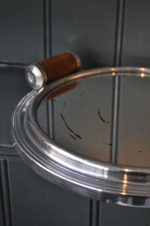 Circular deco tray