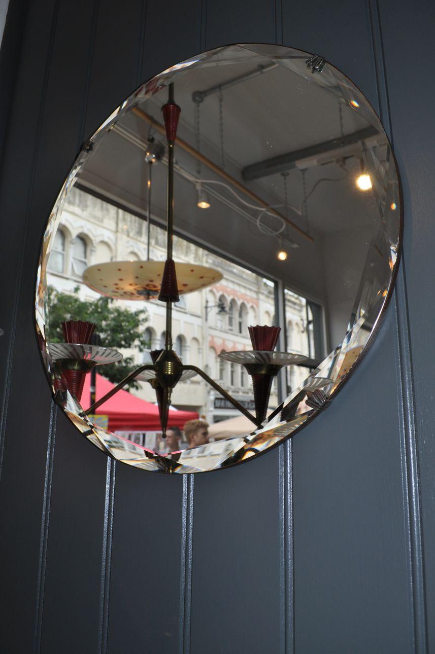 Bevelled frameless mirror - B Southgate