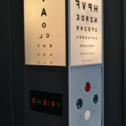 opticians eye test