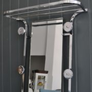 Chrome hallstand