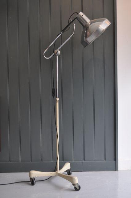 British floor lamp