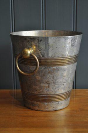 patinated ice bucket