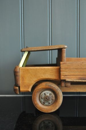 wooden lorry