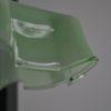 Green glass shades