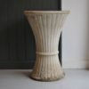 Fluted french planter