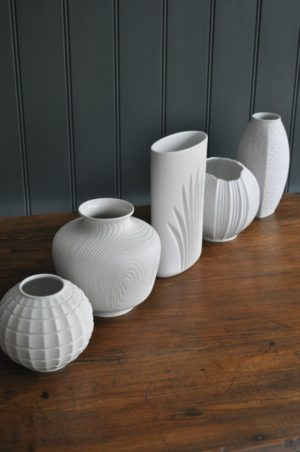 Five German vases